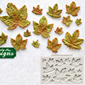 Katy Sue Maple Leaves Silicone Mould