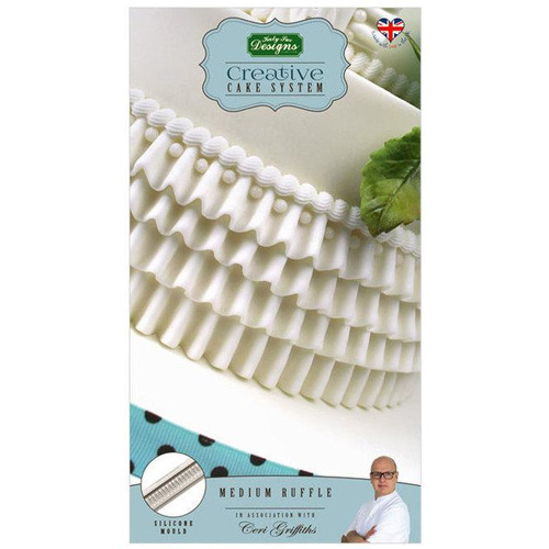 Katy Sue Medium Ruffle Silicone Mould