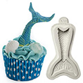 Katy Sue Mermaid Tail Silicone Mould