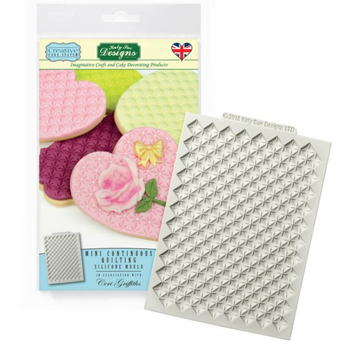Katy Sue Mini Continuous Quilting Silicone Mould