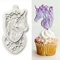 Katy Sue Mini Unicorn Silicone Mould