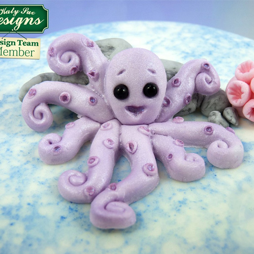 Katy Sue Sugar Buttons Octopus Silicone Mould