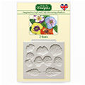 Katy Sue Pansies Silicone Mould
