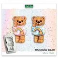 Katy Sue Rainbow Bear Silicone Mould