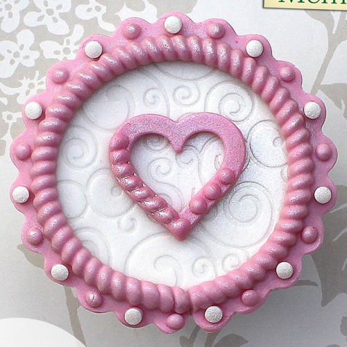 Katy Sue Rope and Pearl Borders Silicone Mould