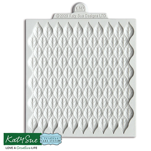 Katy Sue Scandi Leaves Silicone Mould