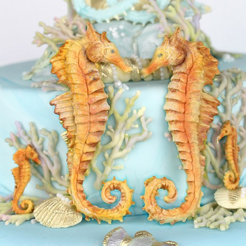 Katy Sue Seahorses Silicone Mould