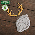 Katy Sue Small Antlers Silicone Mould