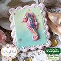 Katy Sue Sugar Buttons Starfish & Seahorse Silicone Mould