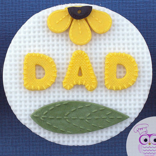 Katy Sue Stitched Alphabet Silicone Mould