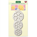 Katy Sue Stitched Flowers Pretty Petals Silicone Mould