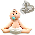 Katy Sue Sugar Buttons Baby Silicone Mould