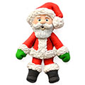 Katy Sue Sugar Buttons Christmas Santa Silicone Mould