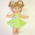 Katy Sue Sugar Buttons Fairy Silicone Mould