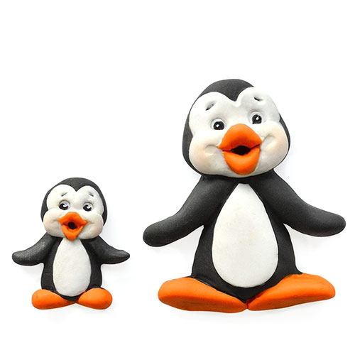 Katy Sue Sugar Buttons Chrismas Penguin Silicone Mould