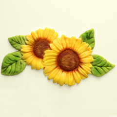 Katy Sue Sunflower Silicone Mould
