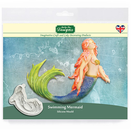 Katy Sue Swimming Mermaid Silicone Mould