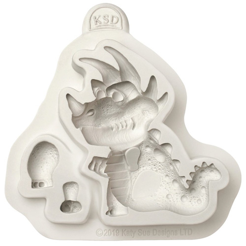 Katy Sue T-Rex Dinosaur Silicone Mould