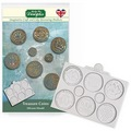 Katy Sue Treasure Coins Silicone Mould QFS