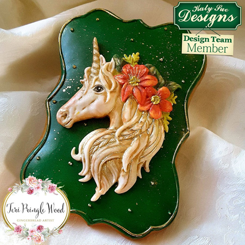 Katy Sue Unicorn Silicone Mould