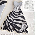 Katy Sue Zebra Print Design Mat