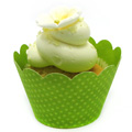 Kiwi Cupcake Wrapper 12pcs