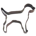 Labrador Dog Brown Cookie Cutter