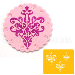 Lace Icon Cookie Stencil