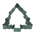 Large Christmas Tree Green Cookie Cutter