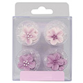Lilac Flower Edible Cupcake Toppers 12pcs