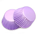 Lilac Purple Foil Baking Cups (#550) 240pcs