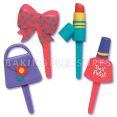Little Girl Cupcake Picks
