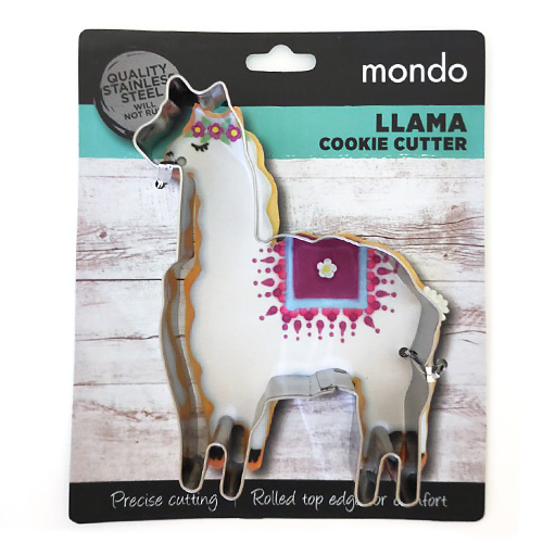 Llama Stainless Steel Cookie Cutter