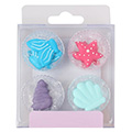 Mermaid Edible Cupcake Toppers 12pcs