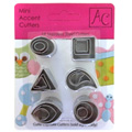 Mini Accent Cutter Set 18pcs