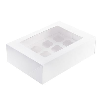 Mondo Mini Cupcake Box 12 Cup (Pack 3)