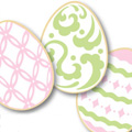 Mini Easter Egg Cutter & Stencil Set