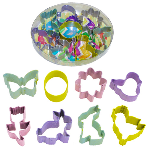 Mini Easter Resin Cookie Cutter Set