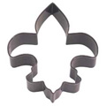 Mini Fleur De Lis Brown Cookie Cutter