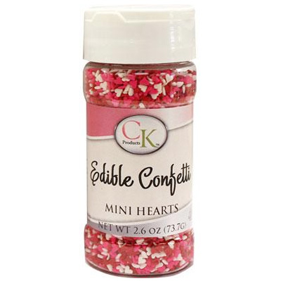 CK Mini Hearts Edible Sprinkles 83g