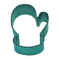 Mini Mitten Green Resin Cookie Cutter
