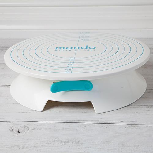 Mondo Cake Decorating Turntable with Brake 30cm