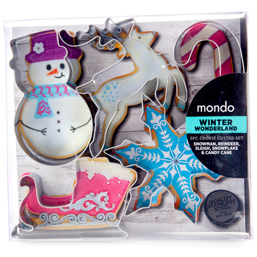 Mondo Christmas Cookie Cutter Set