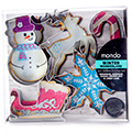 Mondo Christmas Cookie Cutter Set 5pcs