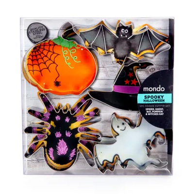 Mondo Halloween Cookie Cutter Set 5pcs