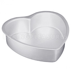 Heart Cake Pan/Tin 8 x 3 Inches