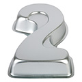 Mondo Number Two Cake Pan