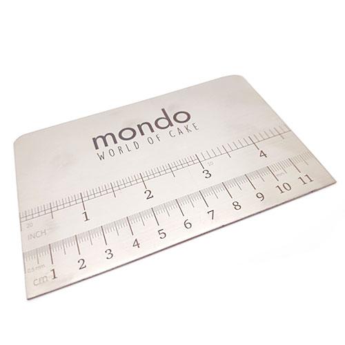 Mondo Small Ganache Stainless Steel Scraper 120mm