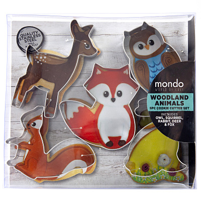 Mondo Woodland Cookie Cutter Set
