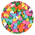 CK Multi Colour Hearts Edible Sprinkles 73g